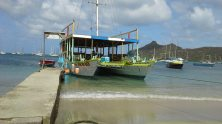 Carriacou fun runner bar in Tyrell Bay.