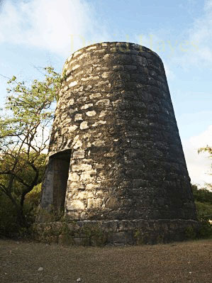 Cane mill in Grand Bay Carriacou.