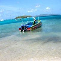 Sherwins Lambi Queen water taxi.