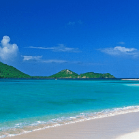 The best caribbean beaches on Carriacou.
