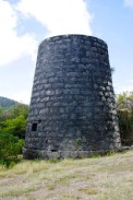 Windmill remains at Grand Bay.