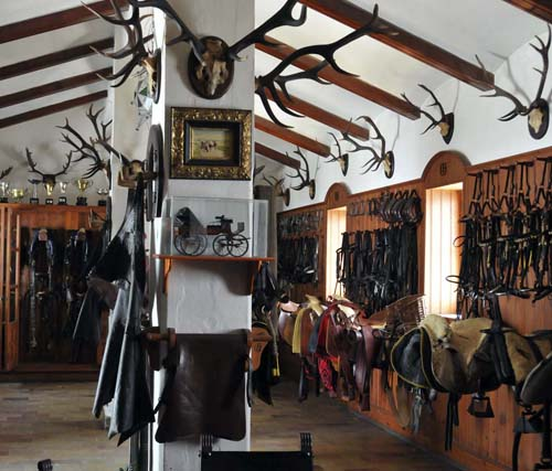 part of the harness / tack room