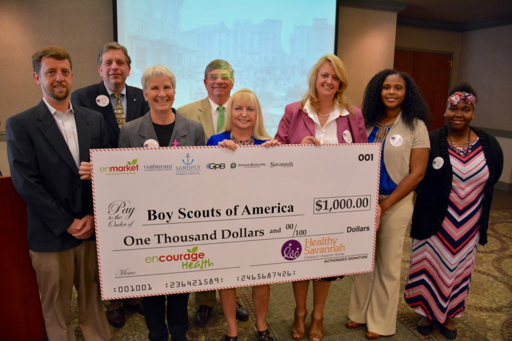 Enmarket Encourage Health Check Presentation to Boy Scouts