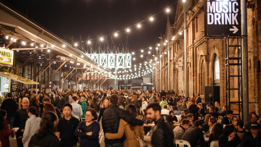 Image result for carriageworks winter night market