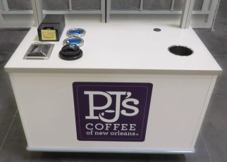 Delaware North Honor Cart - Indoor Self-Serve Coffee Cart (Various locations)