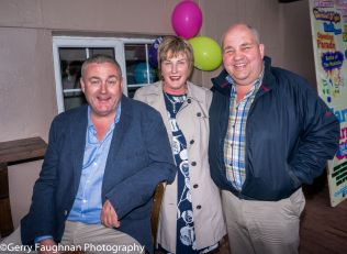 John and CM Healy and Jim Glancy