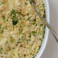 Creamed Chicken and Cabbage Casserole