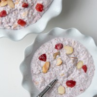 Strawberry Almond Porridge