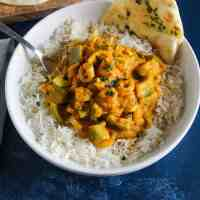 Easy Prawn Jalfrezi with Peppers