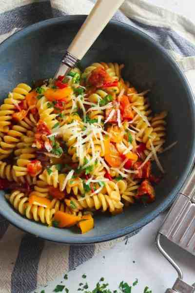 One-pot Chorizo Pasta