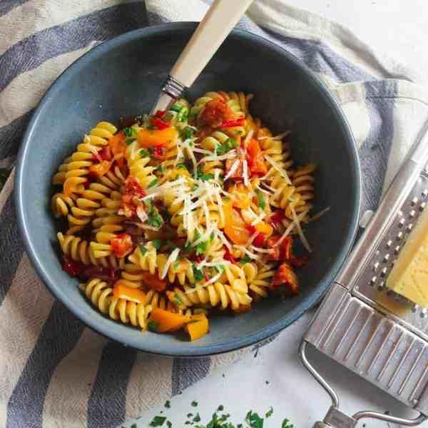 One-pot Chorizo Pasta
