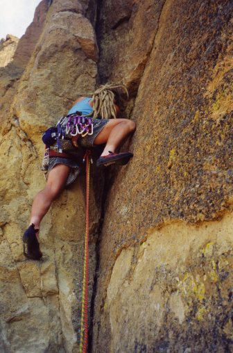 15 Sep 1999 Smith Rock - In Harm's Way