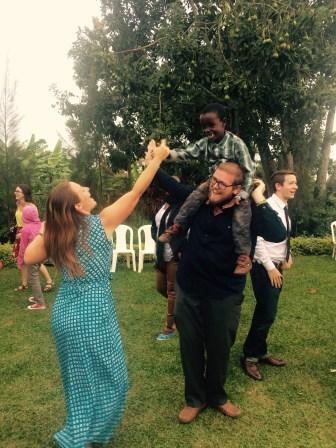 Dancing with Kurtis and Batman