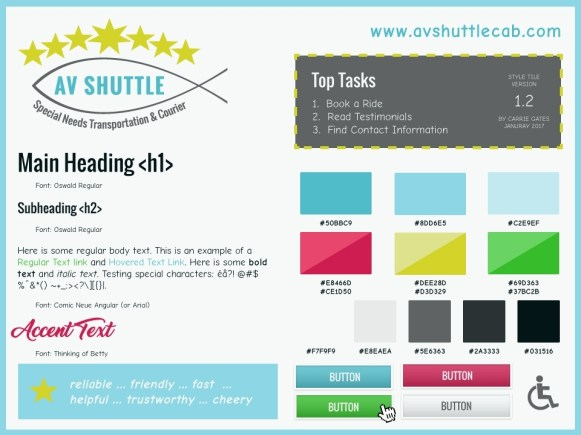 AV Shuttle - Style Tile