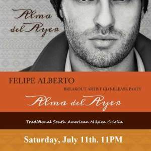 Felipe Alberto - Alma del Ayer in White Plains, New York at Coliseum Night Club