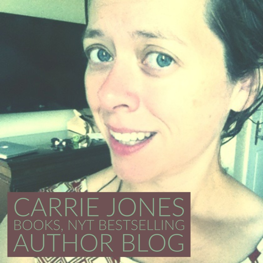 carriejonesbooks blog writing tips
