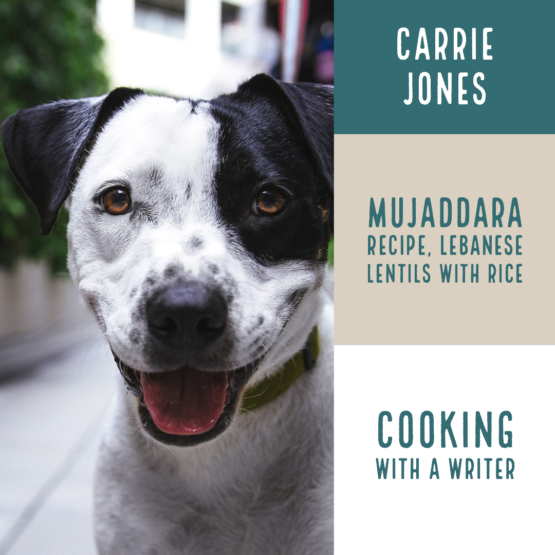 Mugaddara Lebanese Lentils and Rice Vegetarian Recipe Cooking with a Writer
