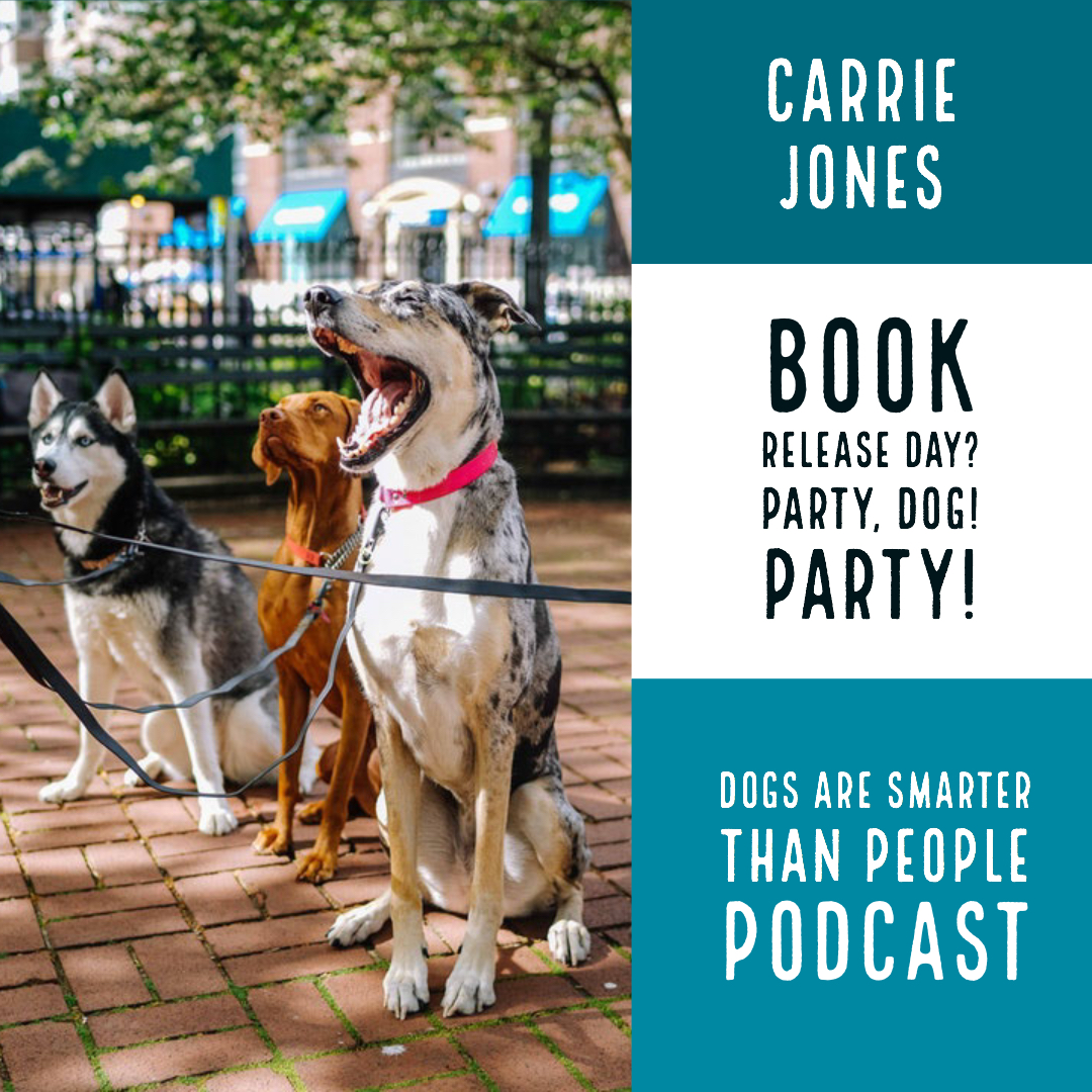 Dogs Are Smarter Than People – BOOK RELEASE DAY!