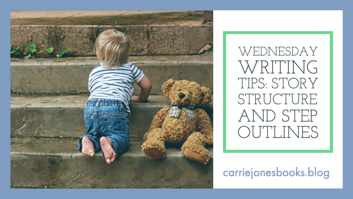 Writing Tip Wednesday – Step Outlines and Structuring Your Story