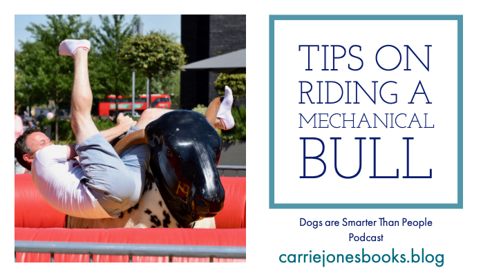 TIPS ON RIDING A MECHANICAL BULL