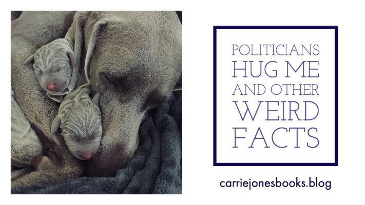 Why Do Politicians Hug Me and Other Weird Facts & Questions