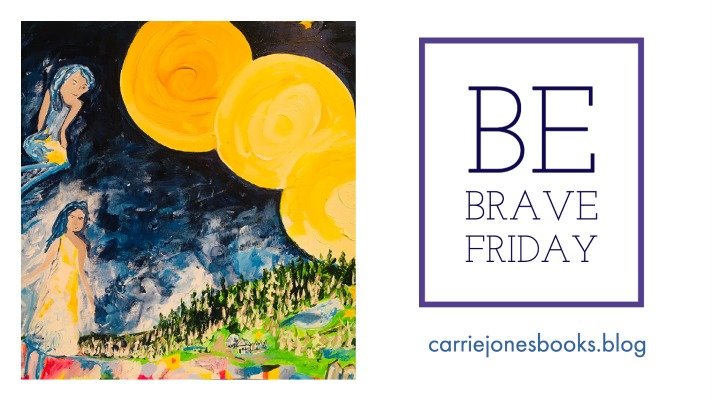 BE BRAVE FRIDAY the 2021 Version about Little Free Libraries and Dead Friends
