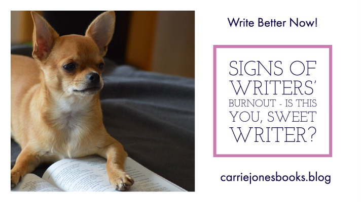 Signs of Writers Burnout