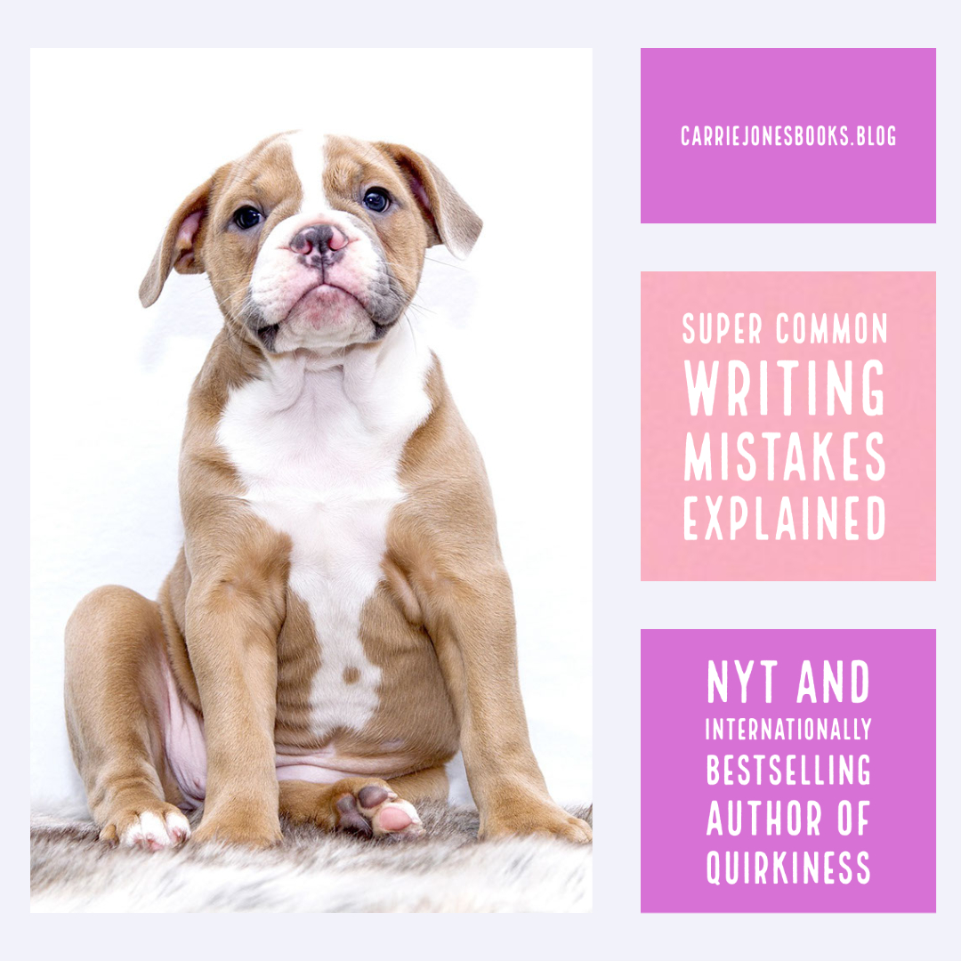 Three Super Common Writing Mistakes Explained