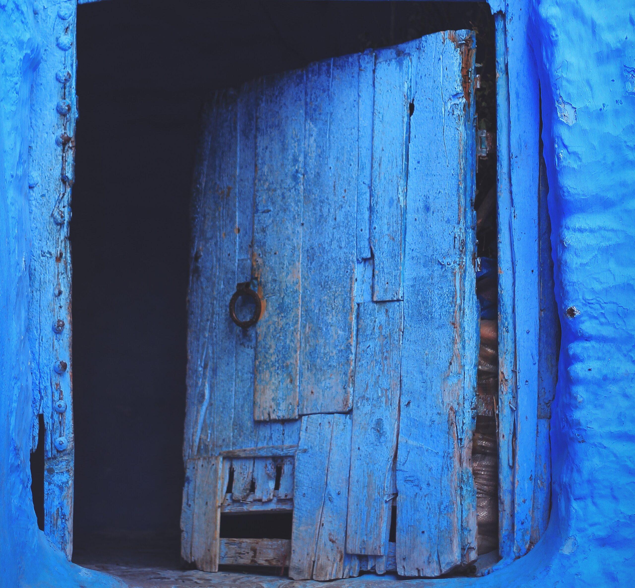 bllue door cropped