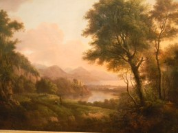 painting of Glen Coe, National Museum