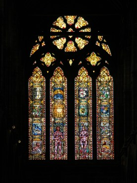 Inside Glasgow Cathedral. Image by C. L. Tangenberg