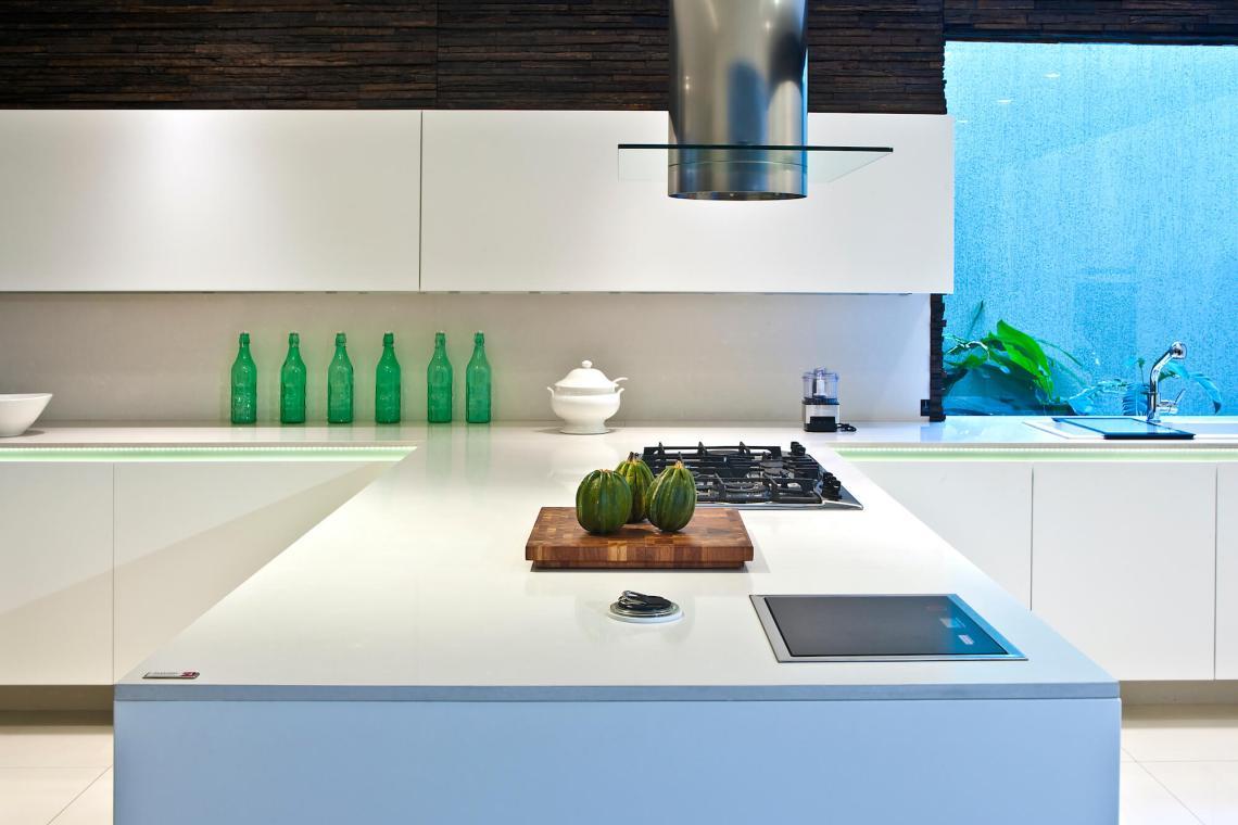 Plan de travail cuisine Quartz Silestone Classic White