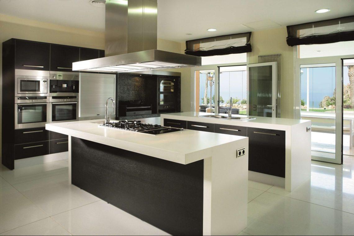Plan de travail cuisine Quartz Silestone Bianco Zeus