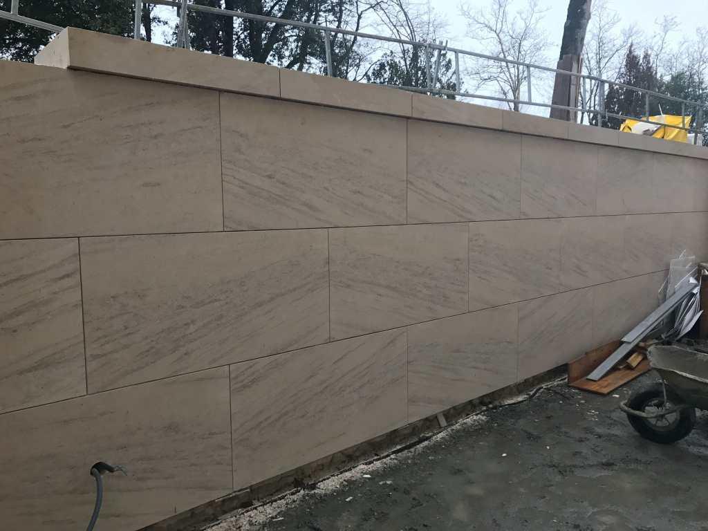 Mur en pierres de France