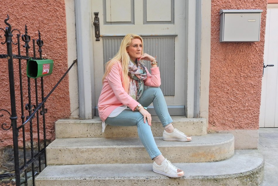 Adidas Metal Toe Blogger Mint Pastell Rose carrieslifestyle