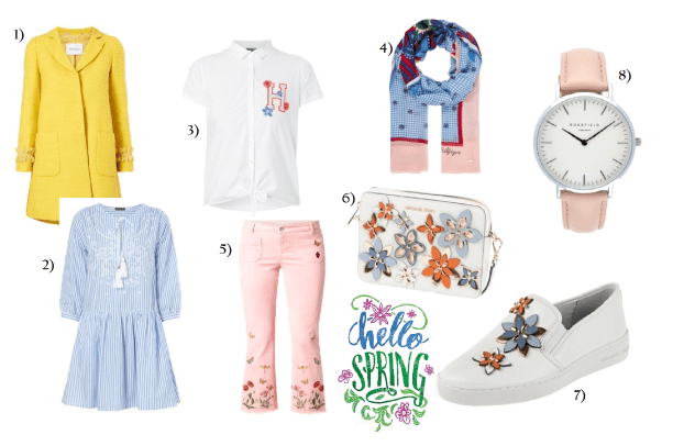 Spring Look Peek und Cloppenburg Collage
