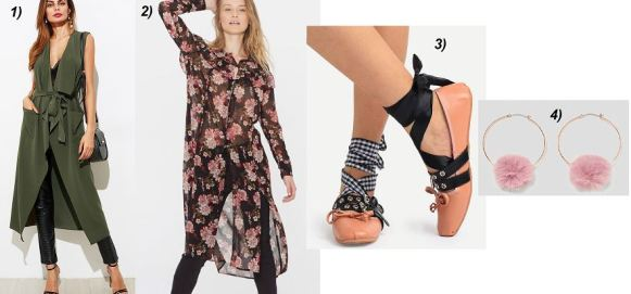 Floral-Print-Dress-Khaki-Vest-MuiMiu-Ballerinas-Gucci-Bag-Fur-Earrings-Zara-carrieslifestyle