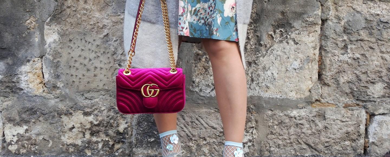 Blumenprints-Flowerprint-Dress-Romwe-Gucci-Bag-Fashionsocks-Fishnet-Stockings-Calzedonia-Büchner-Shoes-Deichmann-carrieslifestyle-Tamara-Prutsch-Cardigan-Springvibes-Springlook
