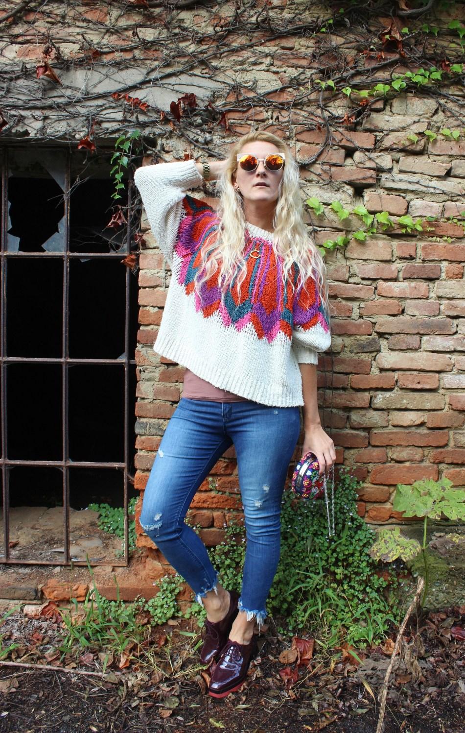 Bodyshaming-Diät-Fall-Herbstlook-Pulli-Pullover-Jeans-Denim-carrieslifestyle-Tamara-Prutsch
