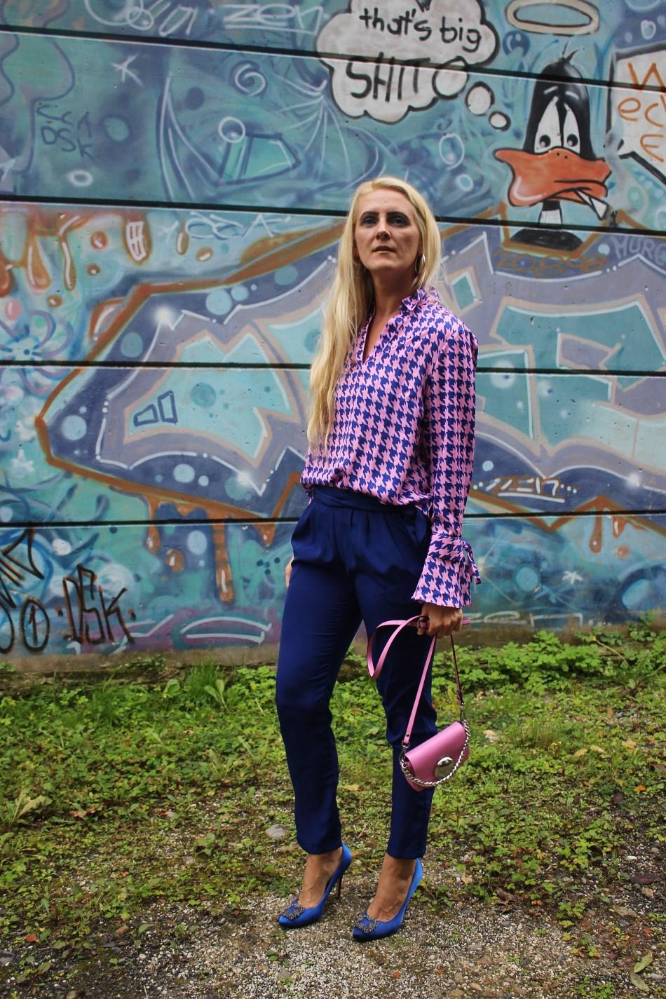 Hahnentritt-Colourblock-Albamoda-Manolo-Blahnik-Heels-carrieslifestyle-Tamara-Prutsch