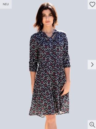 Alba Moda-Kleider Trends 2020-Polkadots- Weiße Kleider-Maritim-carrieslifestyle