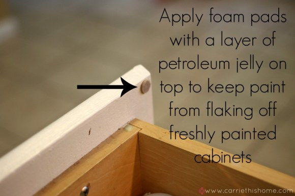how to keep pain from flaking off freshly painted cabinets
