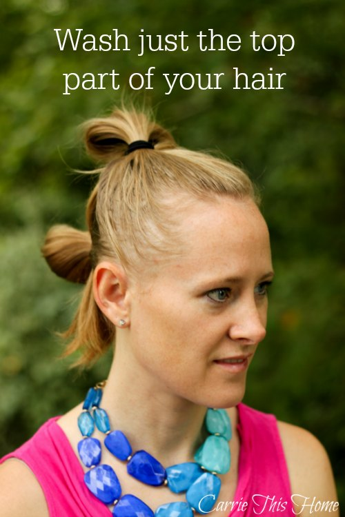 Get Rid Of Greasy Hair In 10 Minutes