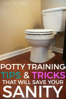 After potty training both of my kids (one boy and one girl) I've developed a list of tips and must haves for potty training that have literally saved my sanity. These tips and key items will help make potty training easier, no matter what potty training method you use. This is a must-read before you start potty training! Great list of helpful tips to make the transition much easier.