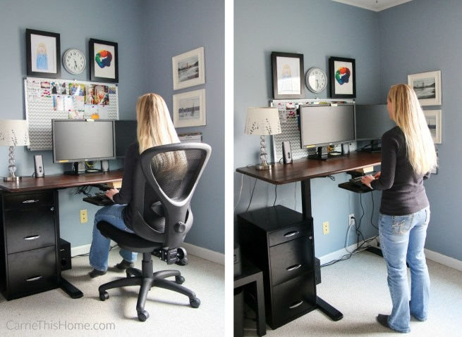 Diy Sit And Stand Desk For Under 200
