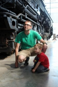 Checking Out the SP&S 700 Steam Locomotive