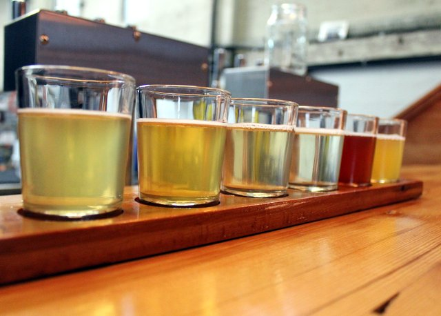 Flight of ciders