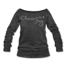 choose joy sweatshirt