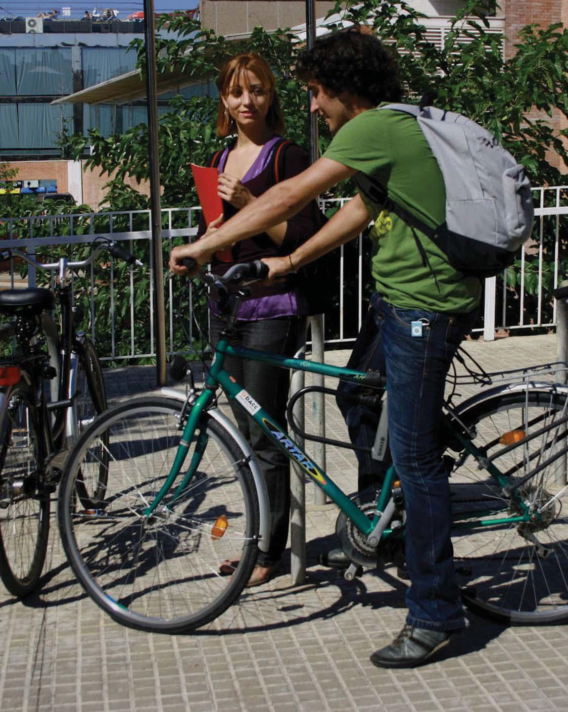 Con bici al instituto
