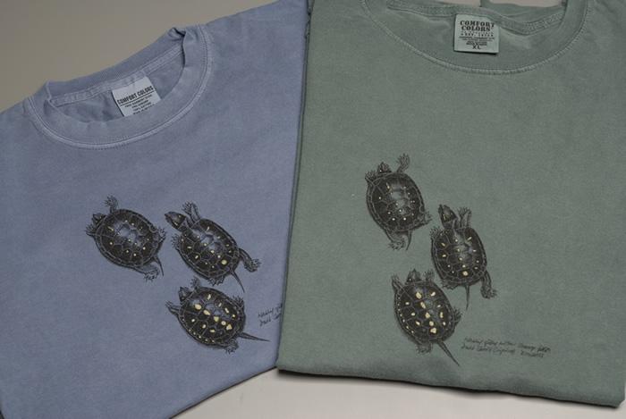 Two shirts turtles